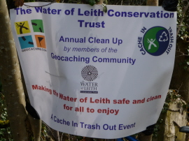 Annual clean up banner